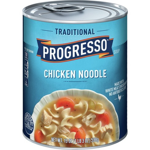 Progresso Traditional Chicken Noodle Soup 19oz - image 1 of 3