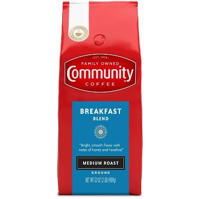 Community Coffee Breakfast Blend Medium Roast Ground Coffee - 32oz