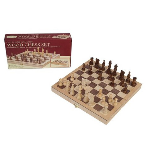 """Chess Set Game - Deluxe with 3.5"""" King - image 1 of 1"""