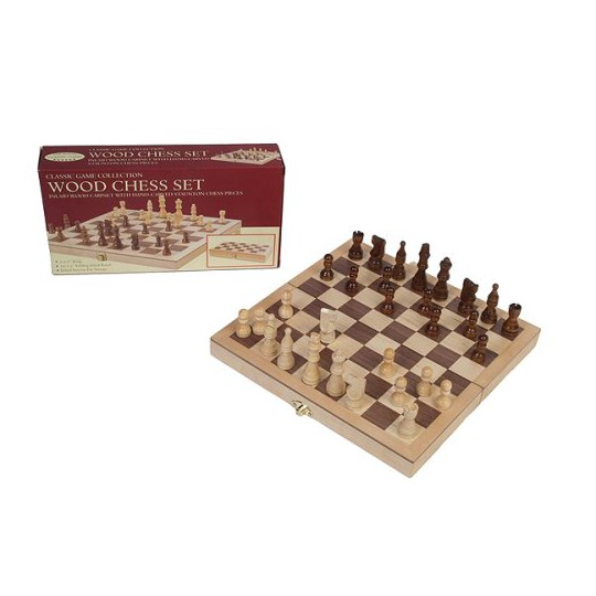 "Chess Set Game - Deluxe with 3.5"" King image number null"