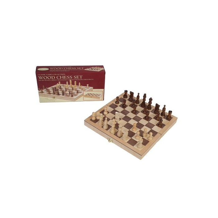 "Chess Set Game - Deluxe with 3.5"" King - image 1 of 1"