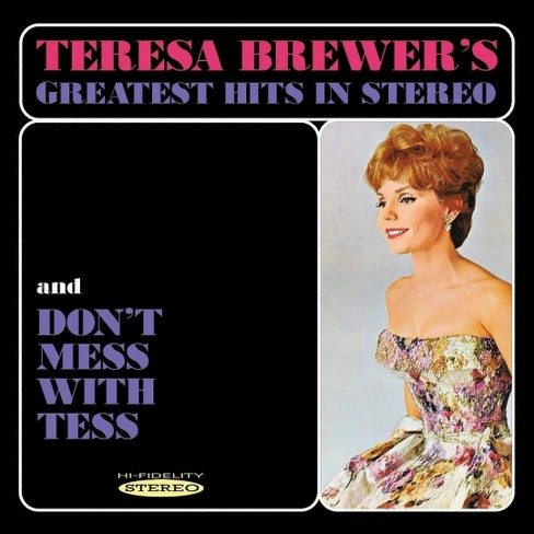 Teresa brewer - Teresa brewer:Greatest hits in stereo (CD) - image 1 of 1