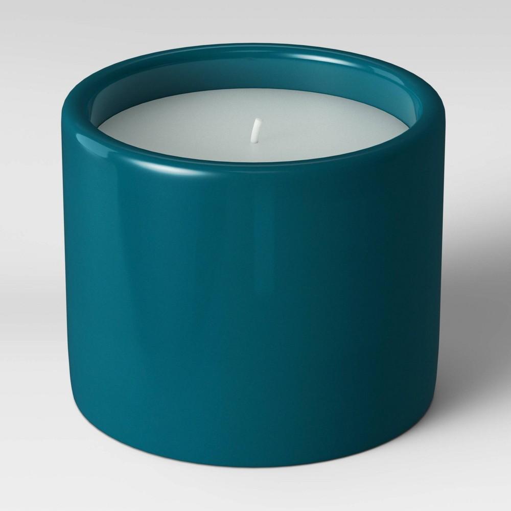 Decorative Ceramic Citronella Candle Vase Endless Ocean Blue Project 62 8482