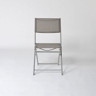 Folding Patio Bistro Chair Gray - Threshold™