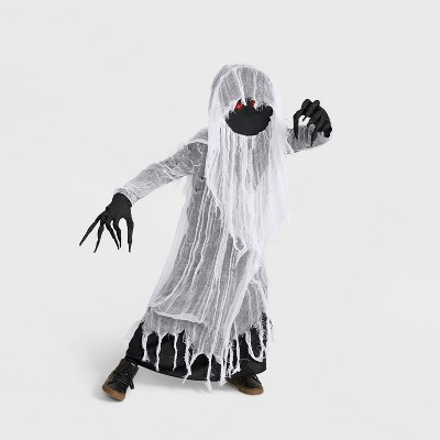 Kids' Light Up Faceless Ghost Halloween Costume with Accessories - Hyde & EEK! Boutique™