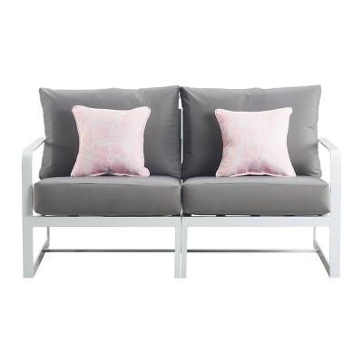 Mirabelle Outdoor Sofa - White - Adore Decor