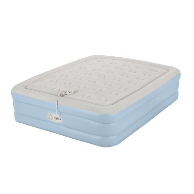 AeroBed® One-Touch Comfort™ Air Mattress - Double High Queen (Gray)