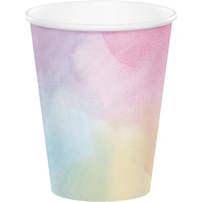 24ct Iridescent Disposable Party Cups
