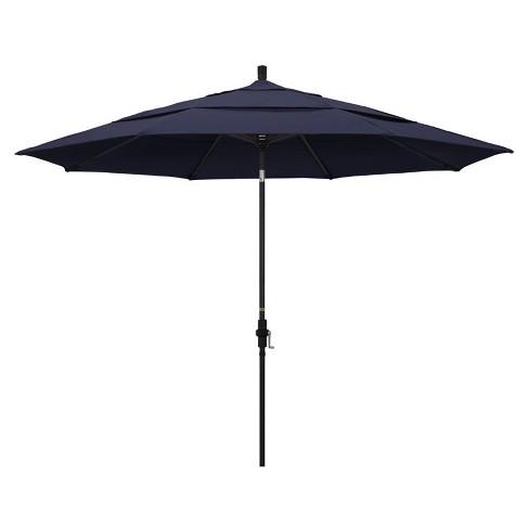11' Patio Umbrella in Navy - California Umbrella - image 1 of 2