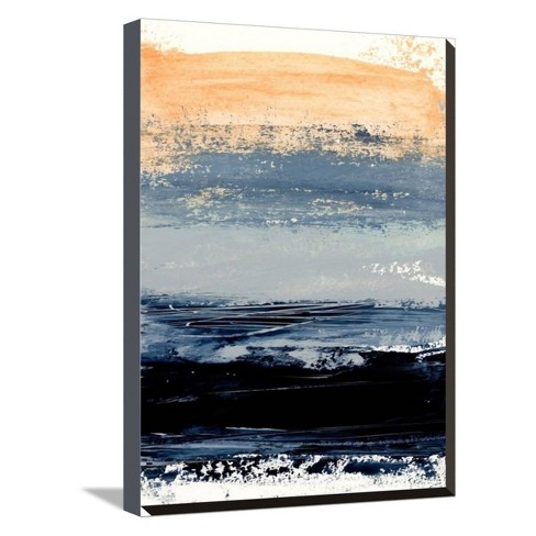 Abstract Minimalist Landscape 5 by Iris Lehnhardt Stretched Canvas Print - Art.com - image 1 of 4