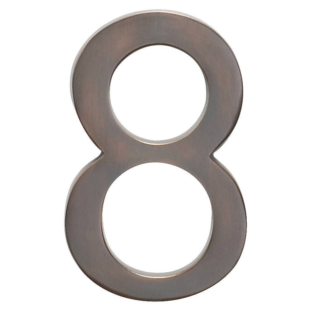 Architectural Mailboxes 5 House Number 8 - Dark Aged Copper
