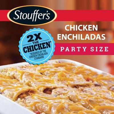 Stouffer's Frozen Chicken Enchiladas Party Size - 57oz - 8ct