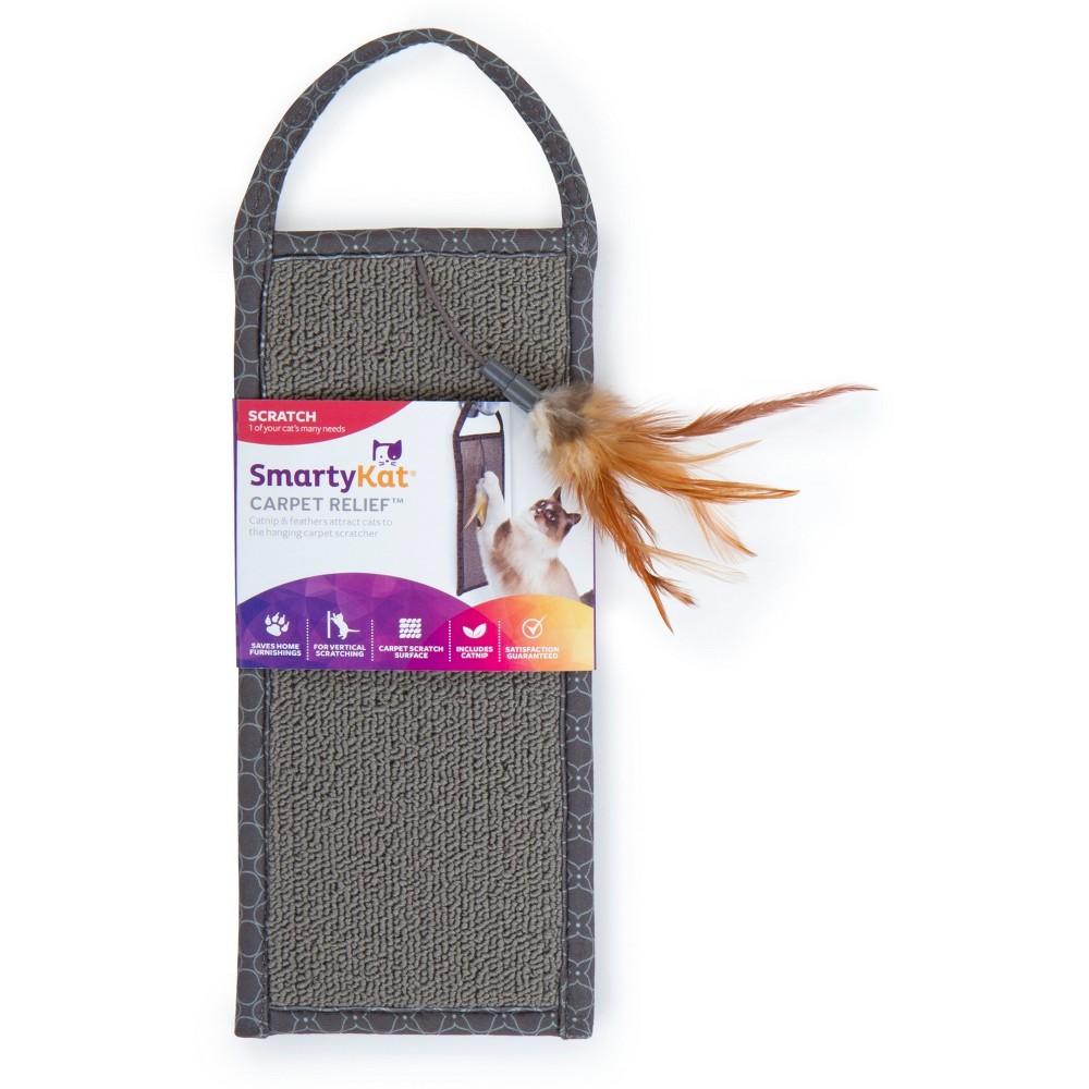 SmartyKat Carpet Relief Cat Scratcher - Gray
