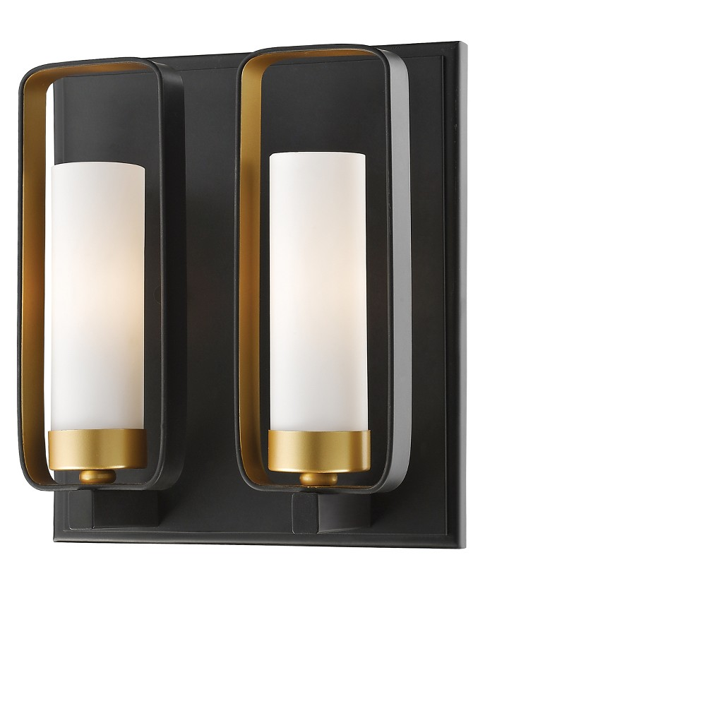 "Image of ""10.25"""" Wall Light Sconce Bronze Gold - Z-Lite"""