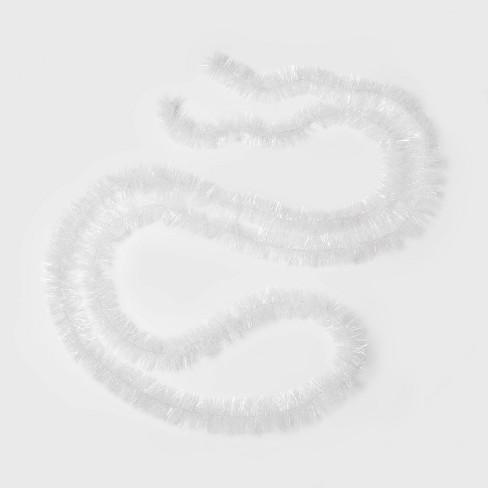 15ft Soft & Silky Christmas Garland White - Wondershop™ - image 1 of 1