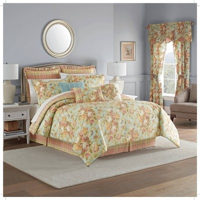 Waverly Spring Bling Comforter Set Vapor