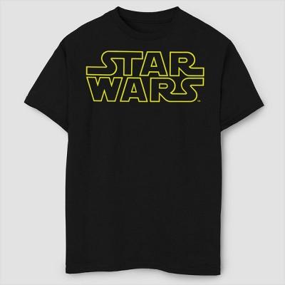 Boys' Star Wars Classic Logo T-Shirt - Black