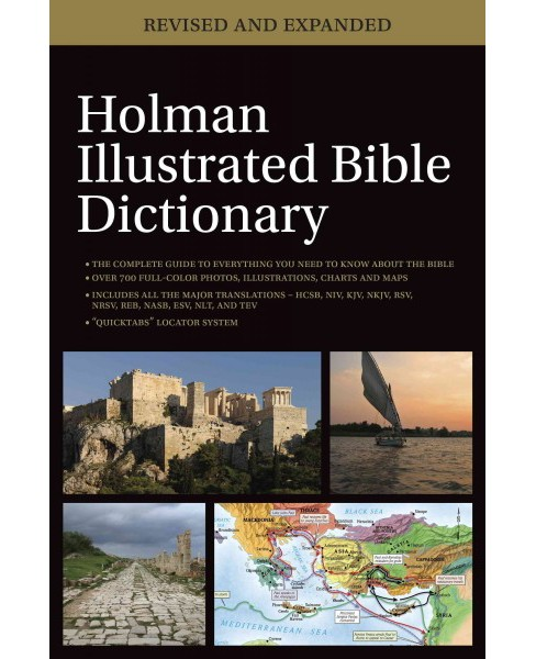 Holman Illustrated Bible Dictionary (Revised / Expanded) (Hardcover) - image 1 of 1