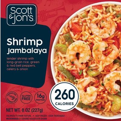 Scott & Jon's Shrimp Jambalaya Frozen Rice Bowl - 8oz