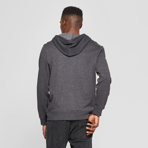 e75b39a74 Men's West Coast Long Sleeve Full Zip Hooded Sweatshirt - Awake Black