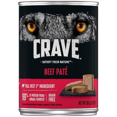CRAVE Grain Free Adult Canned Wet Dog Food - 12.5oz