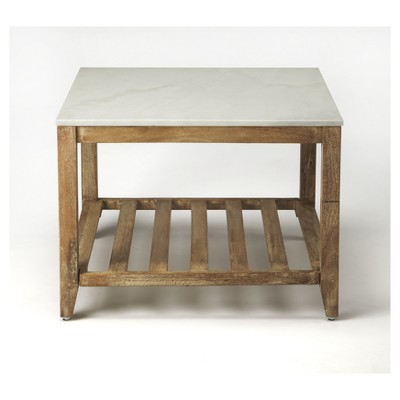 Brayden Marble Bunching Coffee Table   Natural Mango   Butler Specialty :  Target