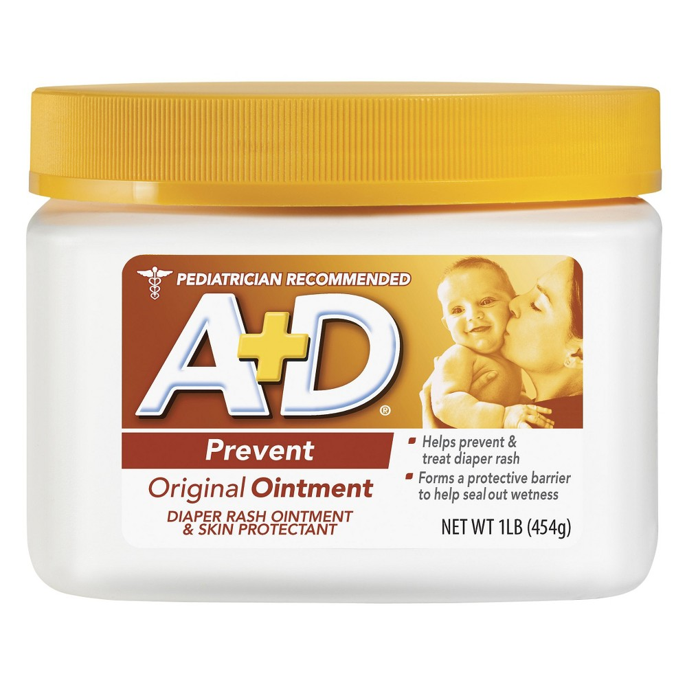 Image of A+d Original Diaper Rash Ointment - 16oz