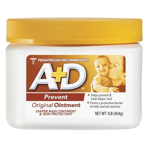 A+D Original Diaper Rash Ointment - 16oz : Target