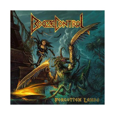 Booze Control - Forgotten Lands (CD) - image 1 of 1