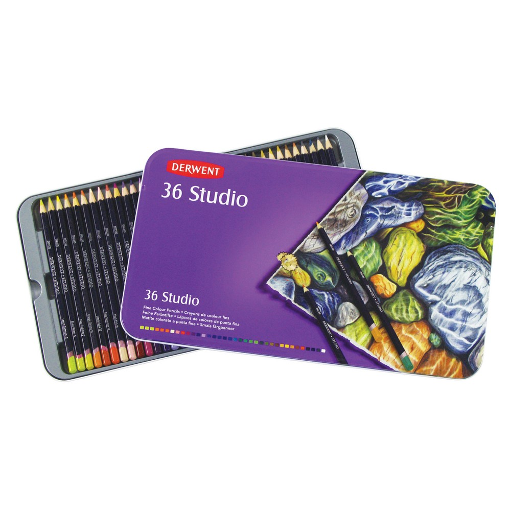Image of Studio Colored Pencils Multicolor - Derwent 36ct