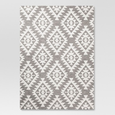 Area Rug Sahara Gray (5'X7')- Threshold™
