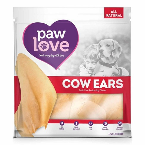 Paw Love Cow Ears - 4pk - image 1 of 3