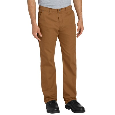 Dickies Men's FLEX Regular Fit Straight Leg Tough Max™ Duck Carpenter Pants