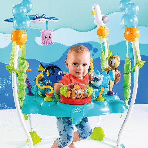 eeeadcdf79a3 Disney Baby Finding Nemo Sea Of Activities Jumper   Target