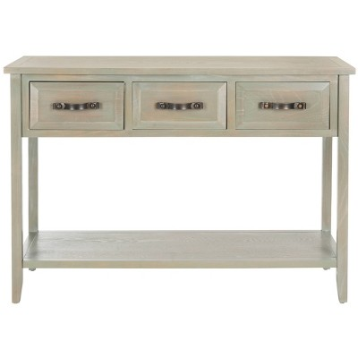 Aiden 3 Drawer Console Table - Safavieh