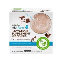 UpSpring Milkflow Supplement Drink Packets - Chocolate - 18ct
