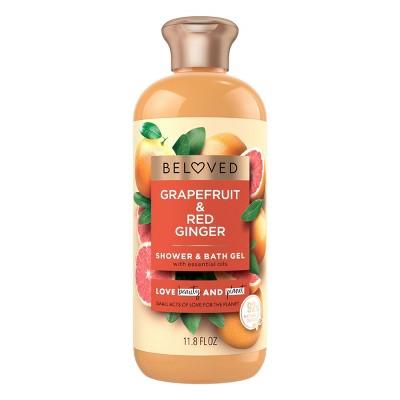 Beloved Grapefruit Oil & Red Ginger Shower & Bath Gel Body Wash - 12 fl oz