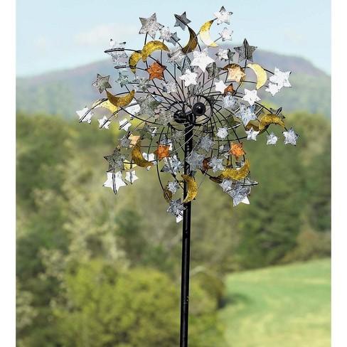 Plow & Hearth - Celestial Confetti Garden Wind Spinner - image 1 of 2