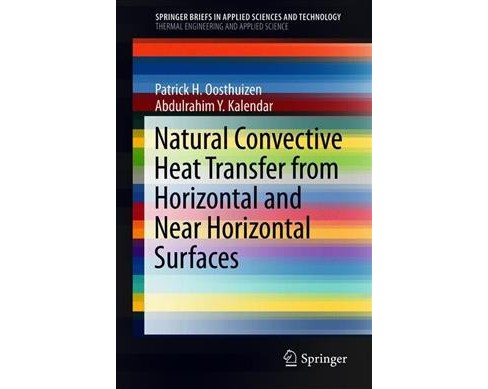 Natural Convective Heat Transfer from Horizontal and Near Horizontal Surfaces -  (Paperback) - image 1 of 1