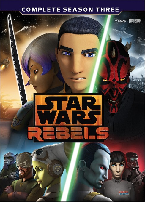 Star Wars Rebels: The Complete Season 3 (DVD) - image 1 of 1