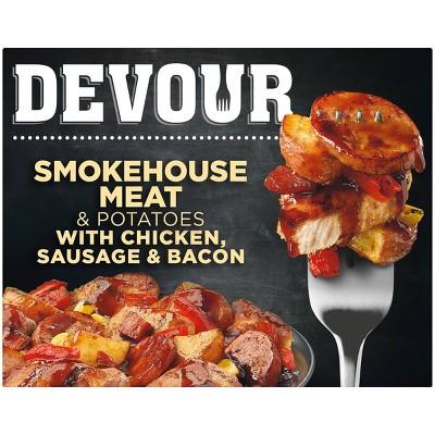 Devour Frozen Smokehouse Meat & Potatoes - 9.8oz
