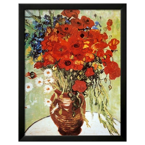 Art vase with daisies and poppies by vincent van gogh target art vase with daisies and poppies by vincent van gogh mightylinksfo