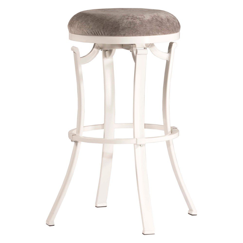 Magnificent Kelford Backless 26 Swivel Counter Stool Whitepaver Evergreenethics Interior Chair Design Evergreenethicsorg