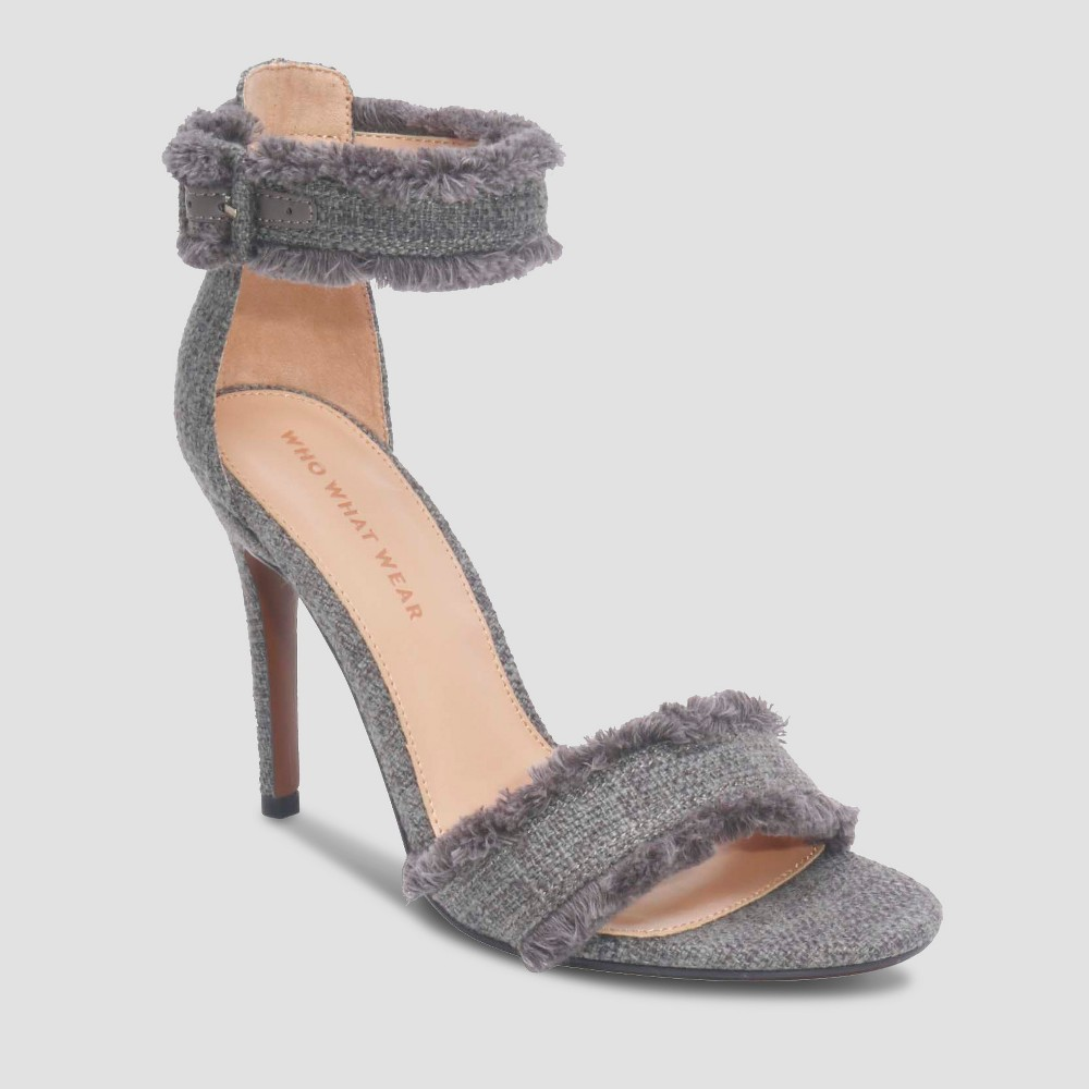 Image of Women's Corin Ankle Strap - Who What Wear Gray 11