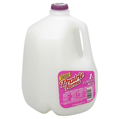 Prairie Farms 1% Milk - 1gal