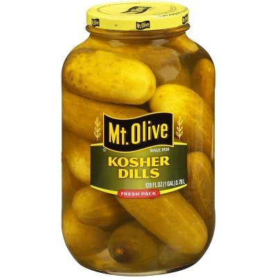 Mt. Olive Fresh Pack Kosher Dills - 128 fl oz