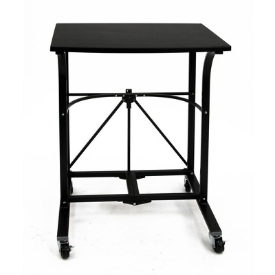 Origami Group RDP-01 Easy To Move Steel 4 Locking Wheel Foldable Trolley Table