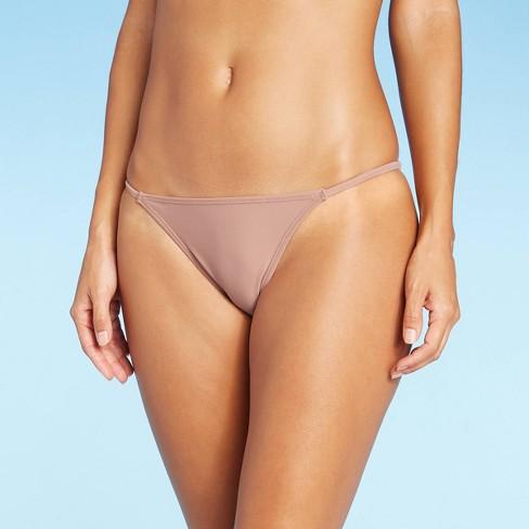 Juniors' Cheeky Bikini Bottom - Xhilaration™ Light Pink - image 1 of 4