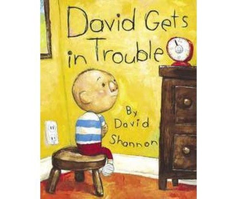 David Gets in Trouble (School And Library) (David Shannon) - image 1 of 1