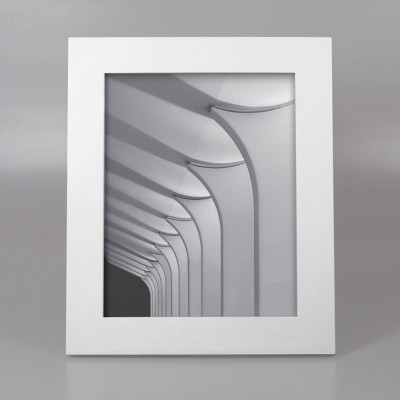 8  x 10  Wide Single Picture Frame White - Made By Design™